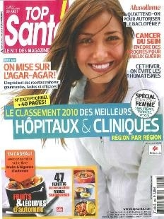 Top Santé Novembre 2010
