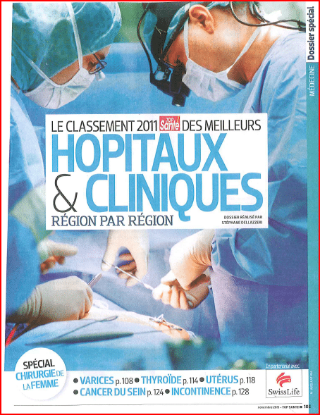 Classement Top Santé 2011
