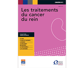 Guide patient : les traitements du cancer du rein