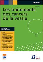 Guide traitements cancers de la vessie