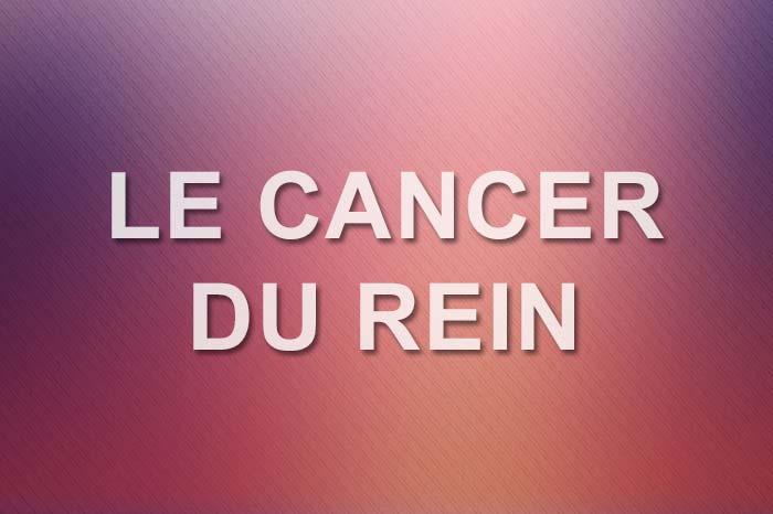 image cancer du rein