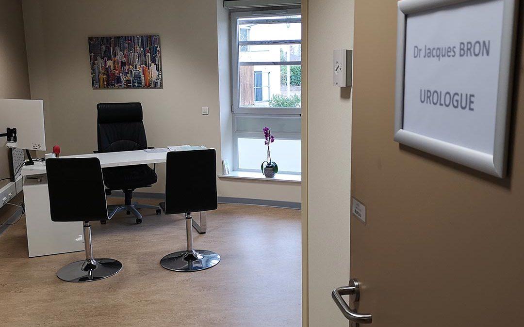 Nouveaux locaux de consultation et secrétariat du Dr BRON
